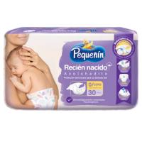 PAÑAL RECIÉN NACIDO X 30