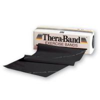 BANDA ELASTICA THERABAND BLACK 5.5MTRS